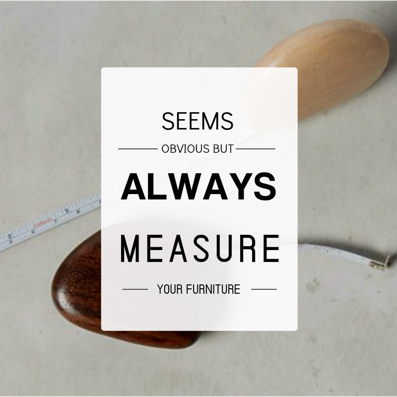MEASURE FURNITURE