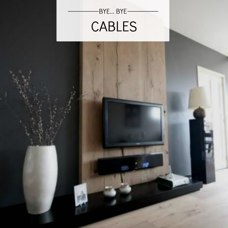 TV CABLES HIDE HOME