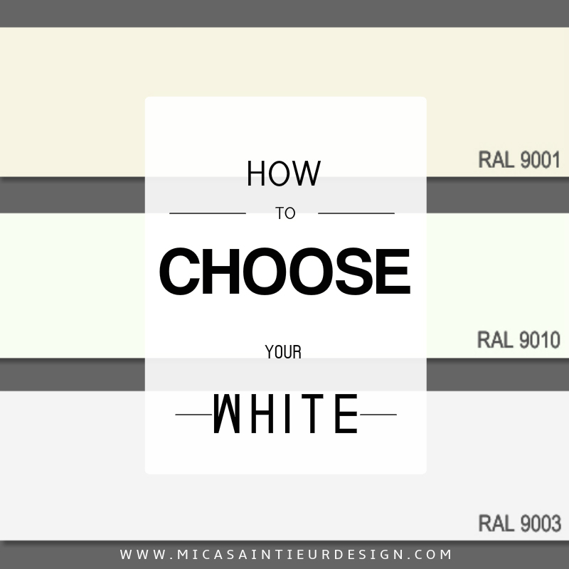 Your perfect white color wall paint