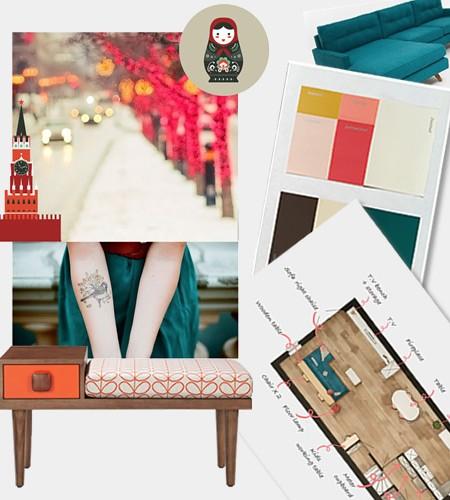 Furniture, plans, 3D, color advice.