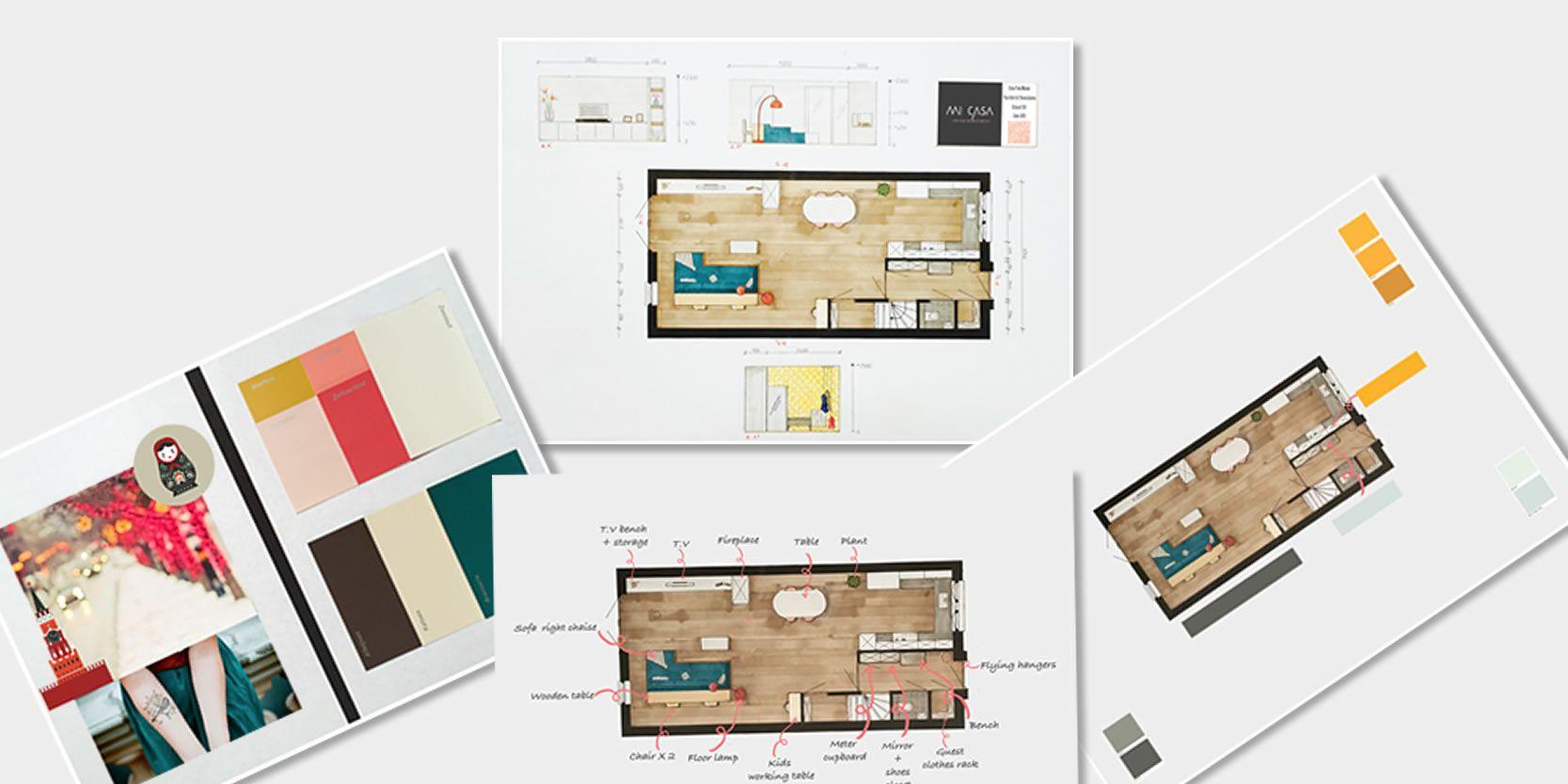 2D-drawings-tekeningen-Binnenhuis-architect