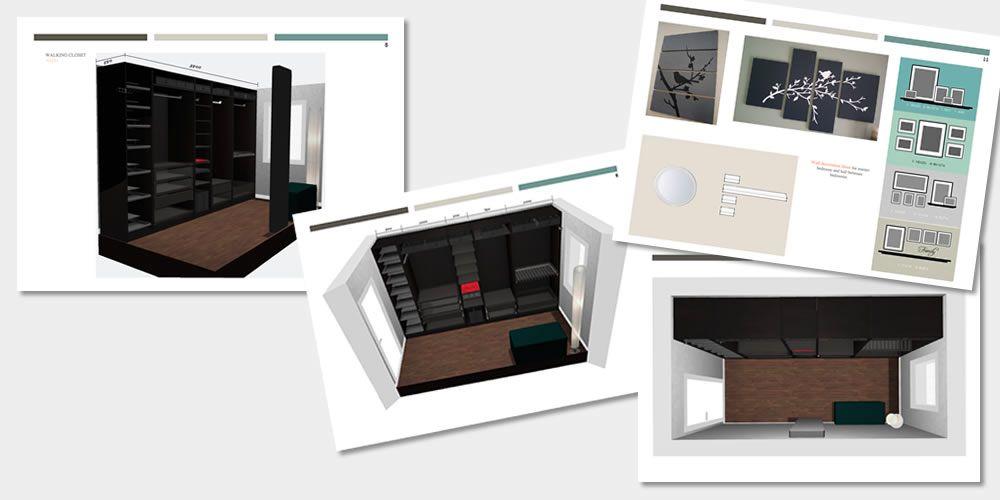 Walking-Closet-3D-drawings-tekeningen-Binnenhuis-architect
