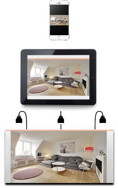 Home Staging, fotos alle formaten. iPhone, iPad and even Billboards